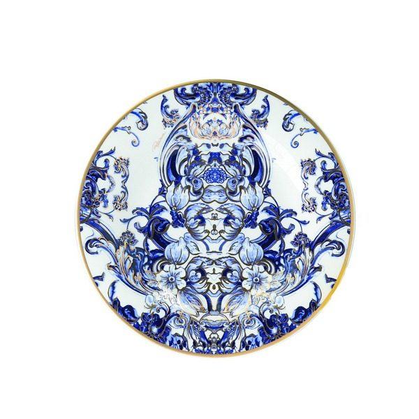 Image of Roberto Cavalli Azulejos Bread and Butter Plate