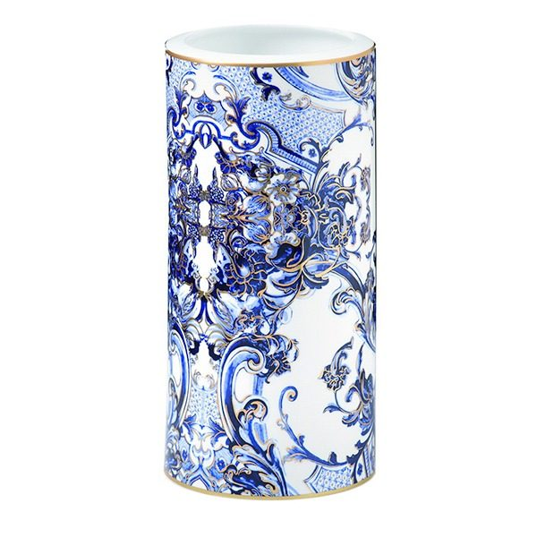Image of Roberto Cavalli Azulejos Medium Vase