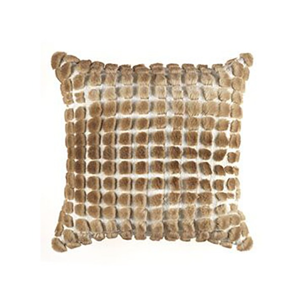 Image of Gianfranco Ferrè Boucle Kirah Cushion in Beige