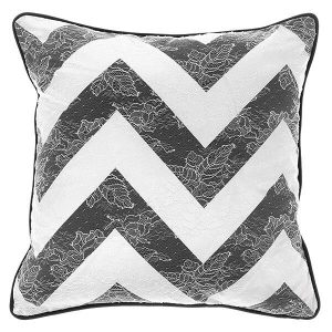 Image of Gianfranco Ferrè Burlesque Chevron Cushion