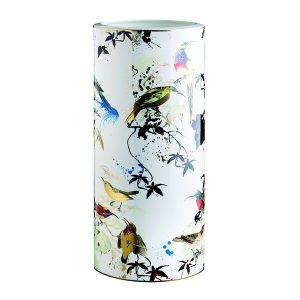Image of Roberto Cavalli Garden Birds High Vase