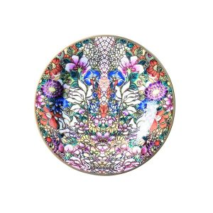 Image of Roberto Cavalli Golden Flowers Bread and Butter Plate