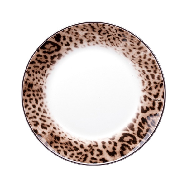 Image of Roberto Cavalli Jaguar Dinner Plate