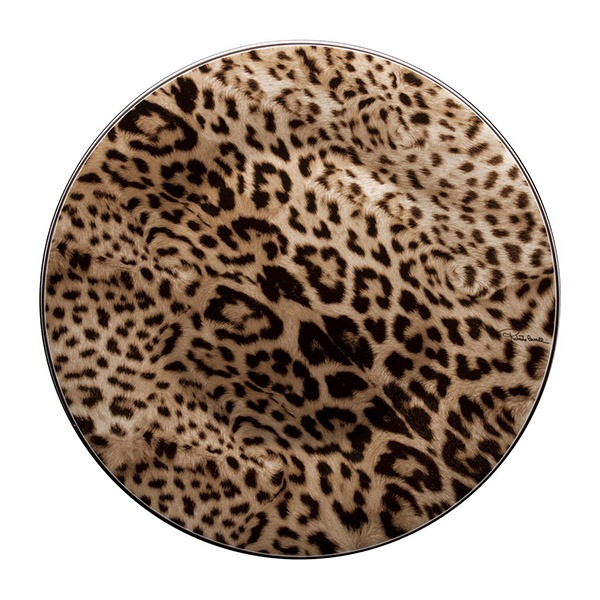 Image of Roberto Cavalli Jaguar Round Serving Dish
