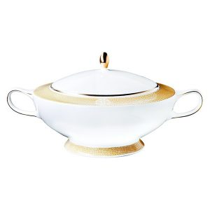 Image of Roberto Cavalli Lizzard Gold Soup Tureen