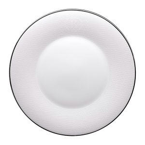 Image of Roberto Cavalli Lizzard Platinum Dinner Plate