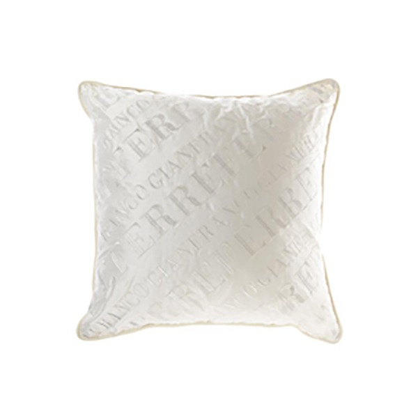 Image of Gianfranco Ferrè Logo Cushion