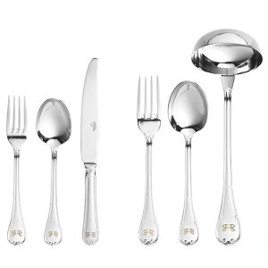 Image of Gianfranco Ferre Lucy Cutlery Set, 12 Persons, 87 Pieces
