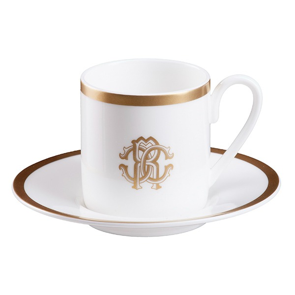 Image of Silk Gold coffee cup and saucer