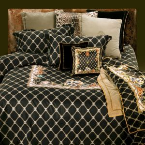 Roberto Cavalli Spider Duvet Cover Set in Black