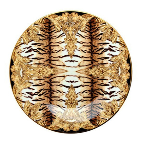 Tiger Wings Bread Plate - Roberto Cavalli Home Luxury Tableware