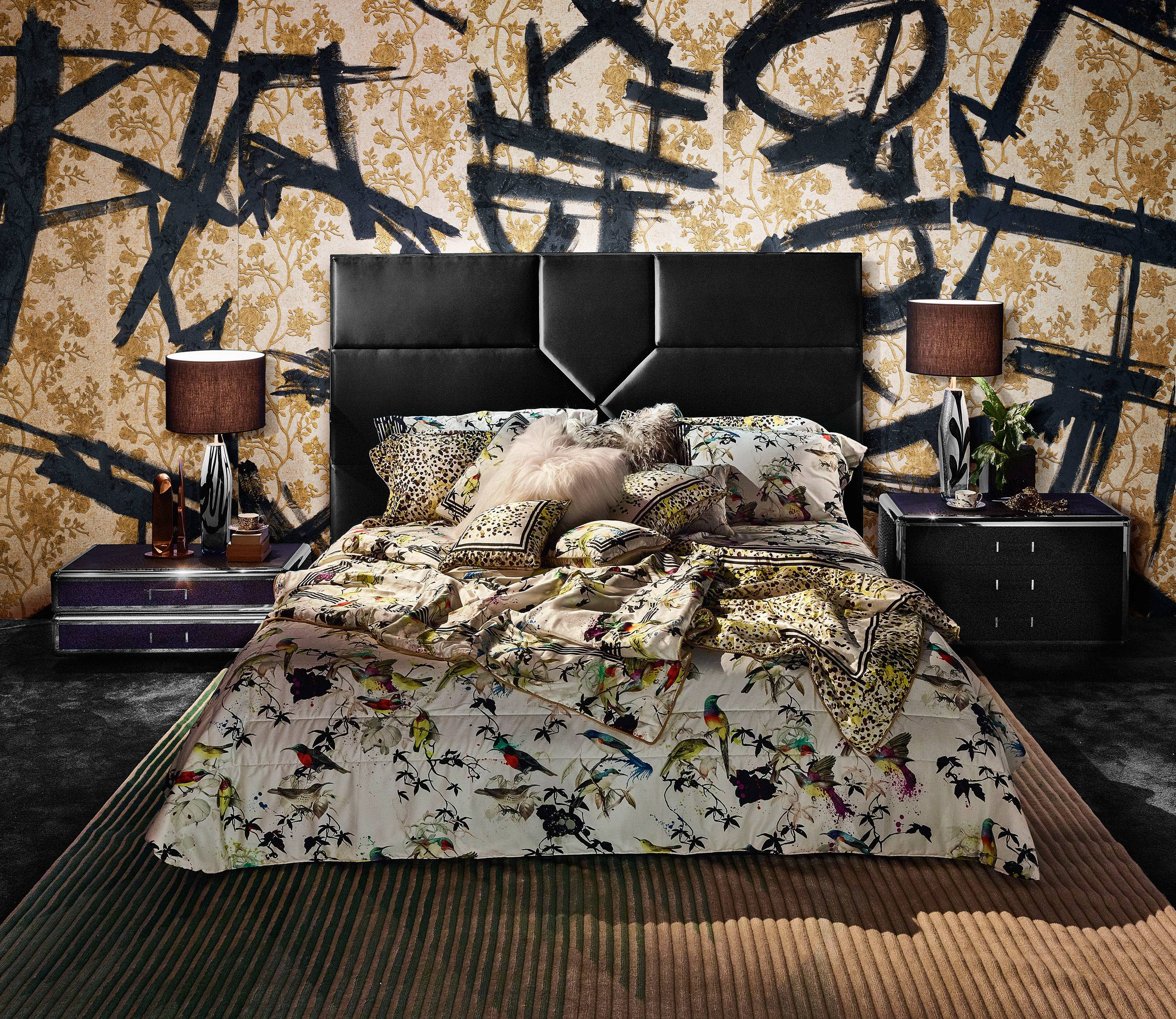 Roberto Cavalli Home Bedroom Design Inspiration