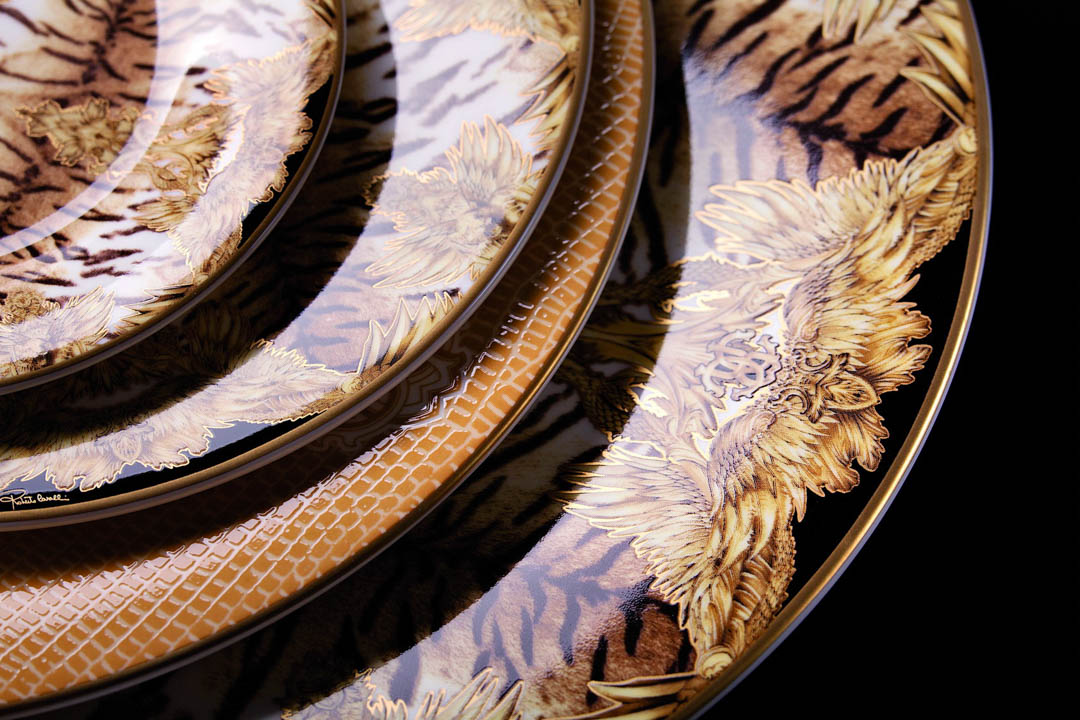Tiger Wings Collection by Roberto Cavalli Home